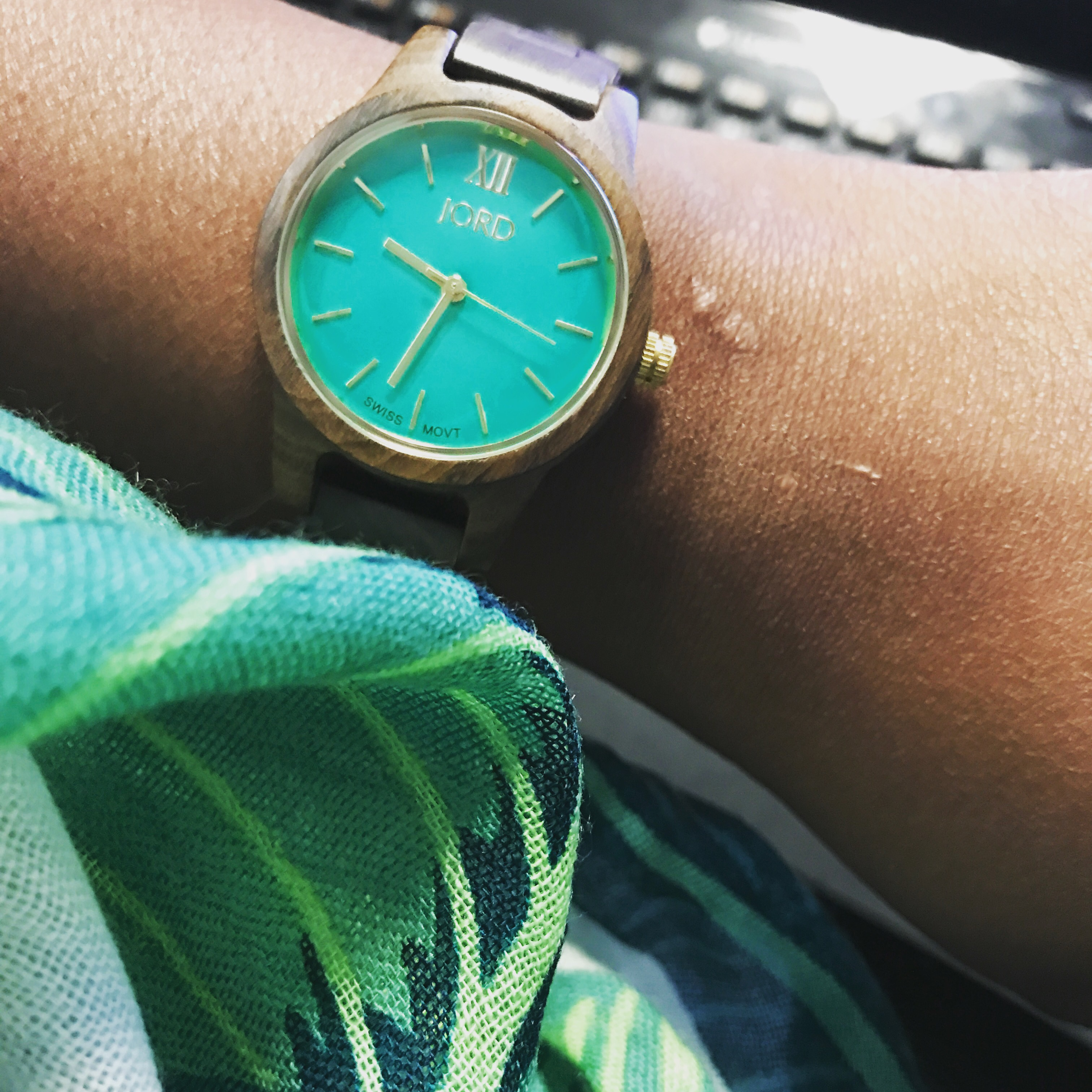 Wearing Jord Wood Watches | She Be Knowin